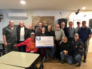 100 Men Cheque presentation to Kawartha Wildlife Centre